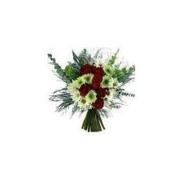 آموزش تزيين دسته گل طبيعي و ساخت و تزئين گلدان گل هاي مصنوعی