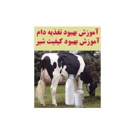 آموزش بهبود تغذیه دام و بهبود کیفیت شیر