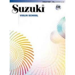 كتاب آموزش ويولن سوزوكي 1 الي 10 نسخه اينترنشنال همراه با سي دي صوتي